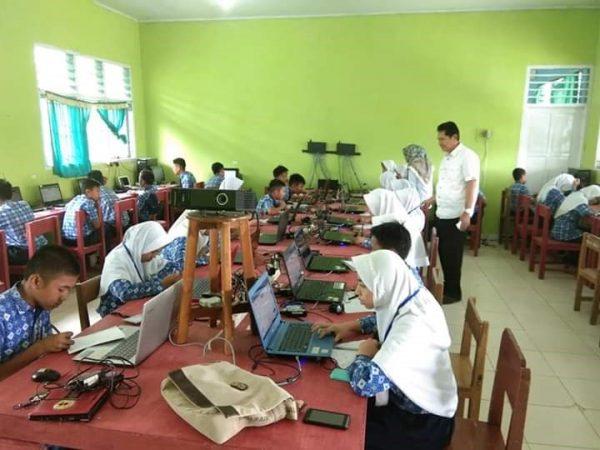 SMP Negeri 23 Sinjai Laksanakan UNBK 2019