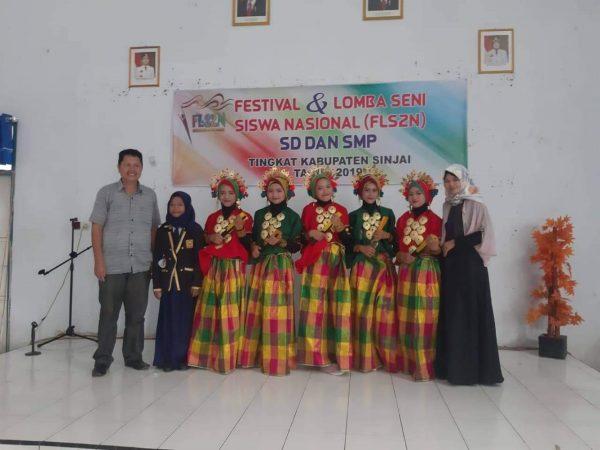 SMP NEGERI 23 SINJAI Raih Juara Umum  Lomba FLS2N Tingkat Kabupaten
