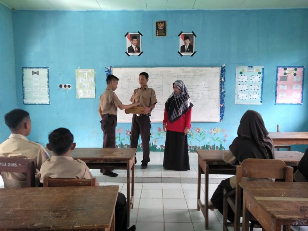 """OSIS SMP NEGERI 23 SINJAI """"SIPAKARAJA"""",  Galang Dana untuk Pengobatan Mustafa Lande"""
