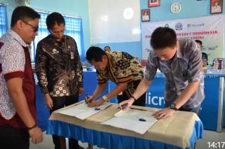 SMPN 23 Sinjai Jalin Kerja Sama dengan Microsoft Indonesia